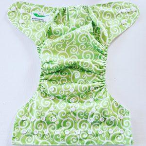 Luierbroekje creatief groen