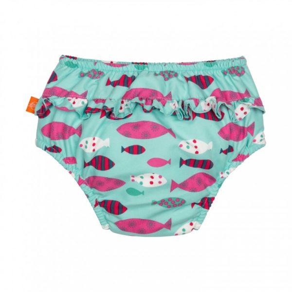 12-18 mnd Lässig Zwemluier Girls Mr Fish achterkant