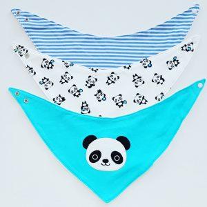 Puntslab set panda