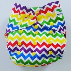 One Size overbroekje zigzag kleur
