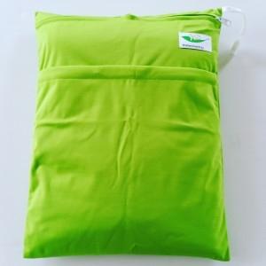 Wetbag dubbele rits groen