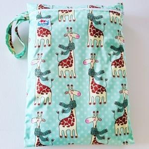 wetbag enkele rits giraffe