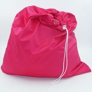 Wetbag trekkoord groot roze
