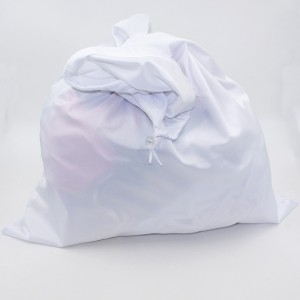 Wetbag trekkoord groot wit