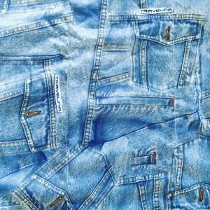 Verschoningsmat middel jeans
