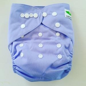 One Size Pocket luier lila
