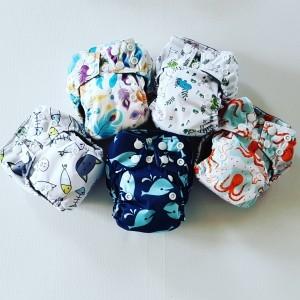 Proefpakket AIO Newborn Pocket luiers
