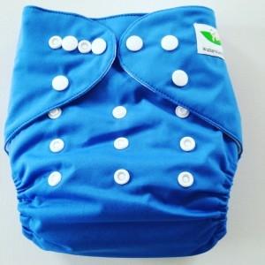 One Size Pocket luier blauw