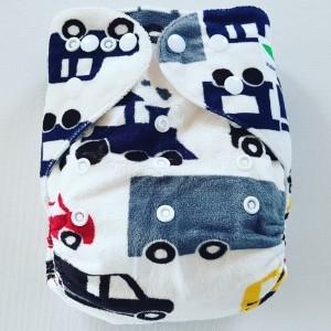 One Size Pocket luier voertuig minky