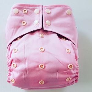 AIO One Size Pocket luier roze
