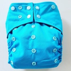 AIO One Size Pocket luier blauw