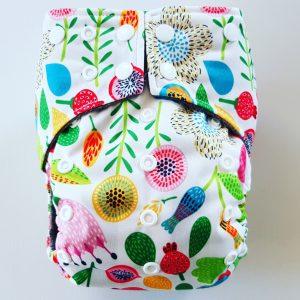 AIO One Size Pocket luier flower