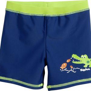 84ce30e11bb8cf Playshoes – UV-zwemshort voor kinderen – Krokodil – Blauw