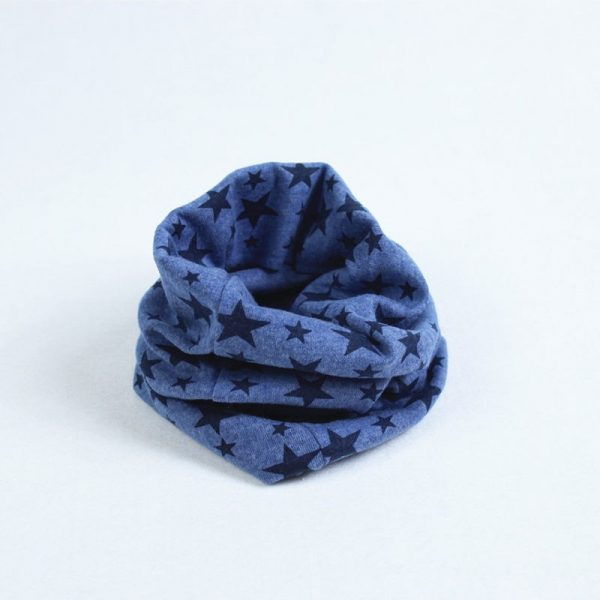 Kids col sjaaltje blauw