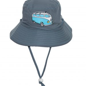 f0cb745da8e Rigon – UV bucket hat voor kinderen – Blue combi bus