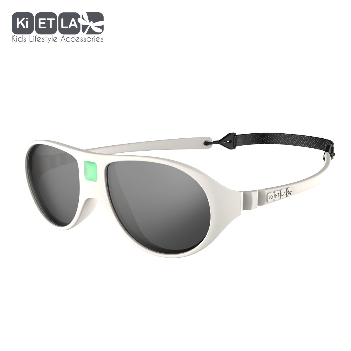 ee690023bf4ee3 Ki Et La - UV-zonnebril voor peuters - Jokala - Crème - Sennes.nl